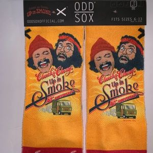 ODD SOCKS Underwear & Socks - NWT ODD SOX CHEECH & CHONG 40th Anniversary Socks
